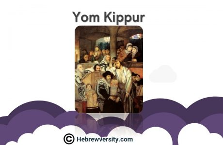Yom 'Kippur' – 'Day of Atonement'