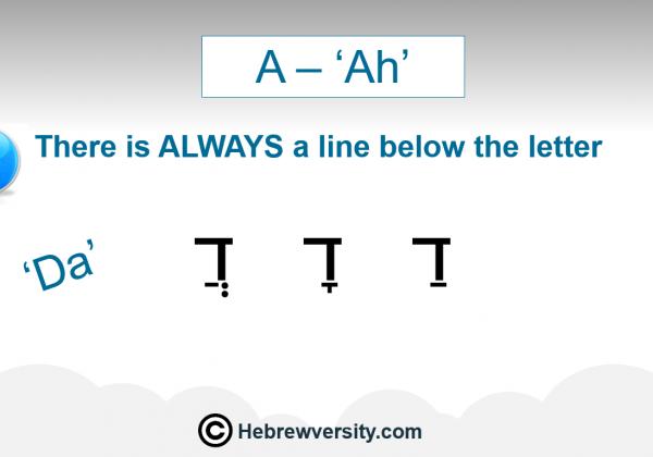"Lesson 7: ""Ah"""
