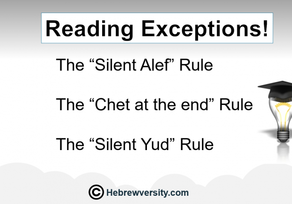 Lesson 13: Reading Exceptions!