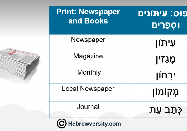 Print Newspaper and Books