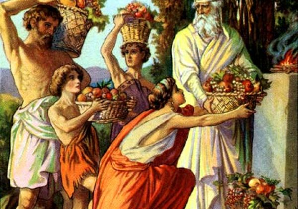 The Hebrew etymology of the biblical pilgrimage festivals